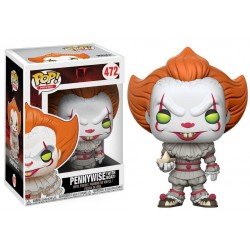 Stephen King's IT POP! Movies Figura Pennywise 9 cm